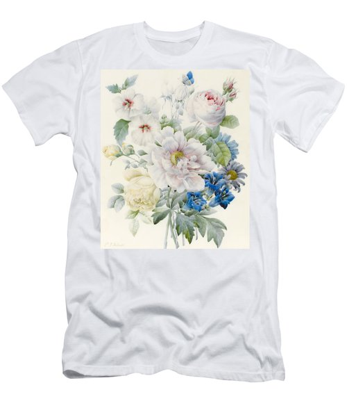 A Bunch Of Flowers Men's T-Shirt (Athletic Fit)