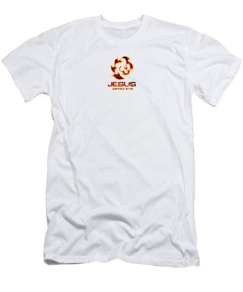 A Burning Bush Men's T-Shirt (Athletic Fit)
