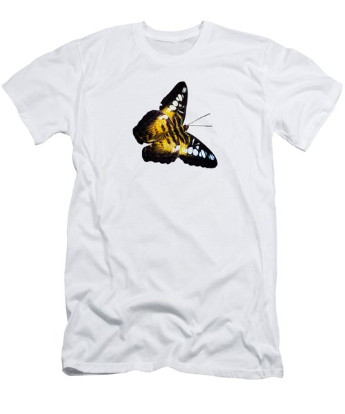 A Butterfly In The Forest Men's T-Shirt (Athletic Fit)