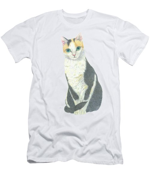 A Calico Cat Men's T-Shirt (Athletic Fit)