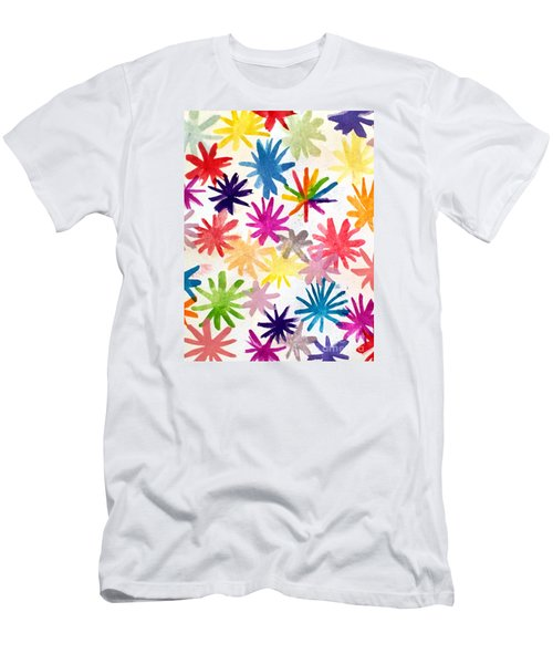 Men's T-Shirt (Slim Fit) featuring the photograph A Child's Creation #1 - Donation by Suri
