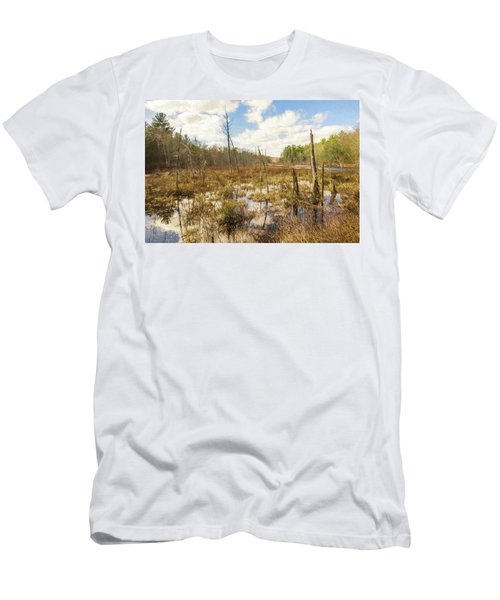 A Connecticut Marsh Men's T-Shirt (Athletic Fit)