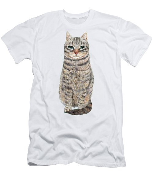 A Cool Tabby Men's T-Shirt (Athletic Fit)