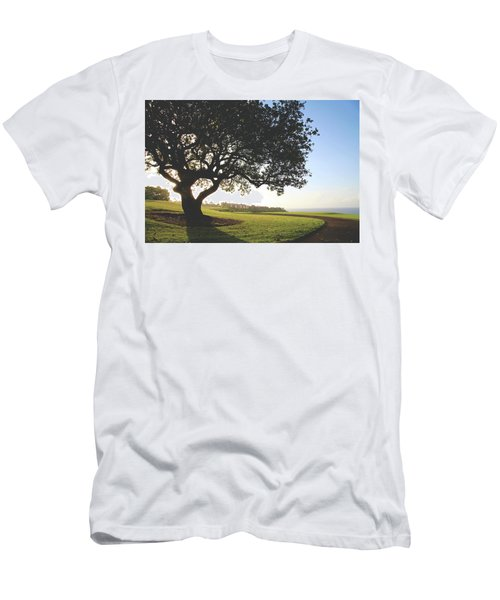 Men's T-Shirt (Slim Fit) featuring the photograph A Dreamy Dream by Laurie Search