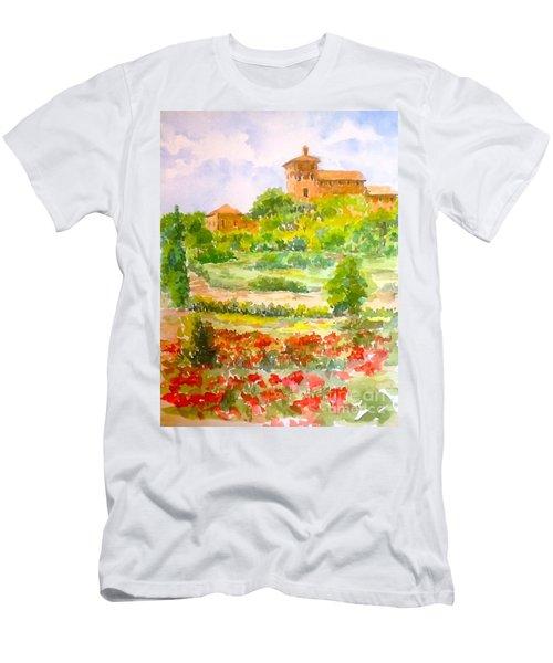 A Hillside Near San Gimignano Men's T-Shirt (Athletic Fit)