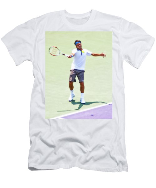 A Hug From Roger Men's T-Shirt (Athletic Fit)