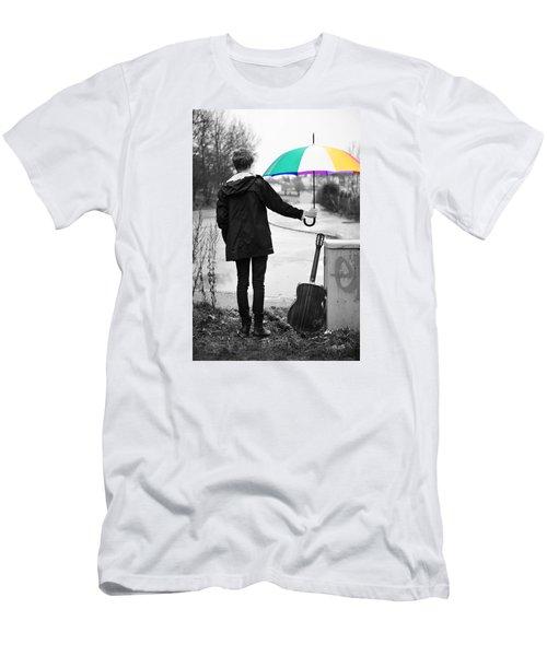 A Man's Best Friend Men's T-Shirt (Athletic Fit)