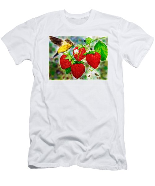 A Midsummer Daydream Men's T-Shirt (Slim Fit) by Asha Aravind