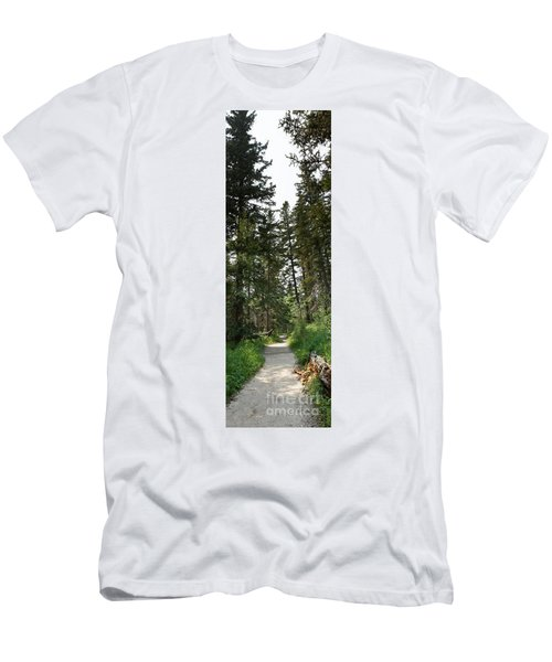 A Path Through The Trees Men's T-Shirt (Athletic Fit)