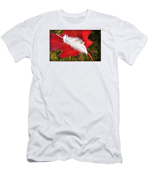 Men's T-Shirt (Slim Fit) featuring the photograph A Perfect Fall by Katie Wing Vigil