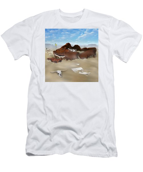 A Slow Death In Piano Valley Sq Men's T-Shirt (Athletic Fit)