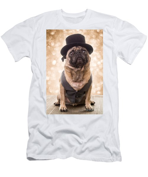 A Star Is Born - Dog Groom Men's T-Shirt (Athletic Fit)