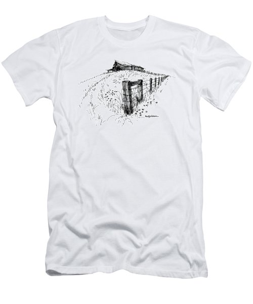 A Strong Fence And Weak Barn Men's T-Shirt (Athletic Fit)