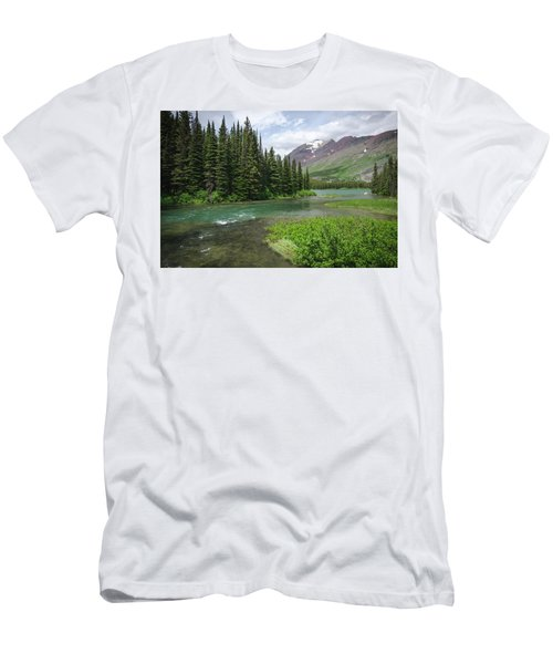 A Walk In The Forest Men's T-Shirt (Athletic Fit)