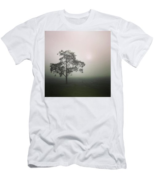 A Walk Through The Clouds #fog #nuneaton Men's T-Shirt (Athletic Fit)