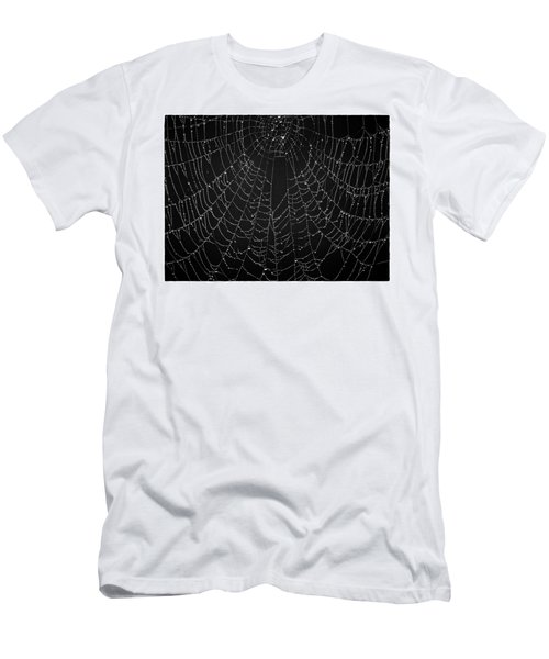 A Web Of Silver Pearls Men's T-Shirt (Athletic Fit)
