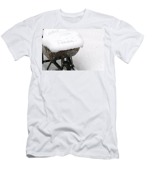 A Wheel Barrel Of Snow Men's T-Shirt (Athletic Fit)