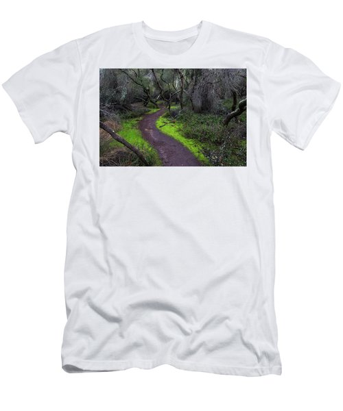 A Windy Path Men's T-Shirt (Athletic Fit)