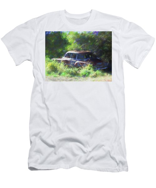 Abandoned 1950 Chevy Dop Men's T-Shirt (Athletic Fit)
