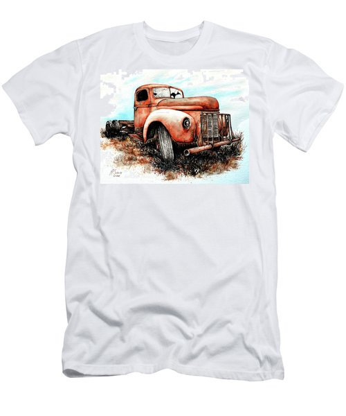 Abandoned Men's T-Shirt (Slim Fit) by Heidi Kriel