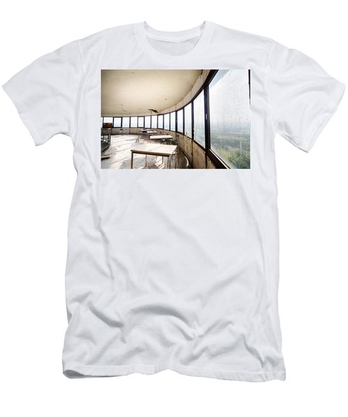 Abandoned Tower Restaurant - Urban Decay Men's T-Shirt (Athletic Fit)