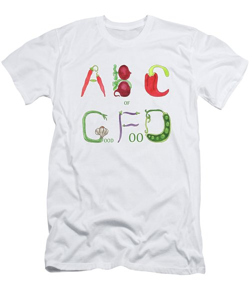 Abc Of Good Food Men's T-Shirt (Athletic Fit)