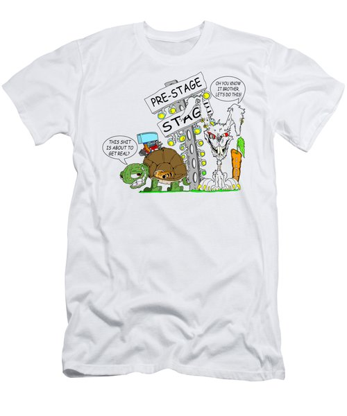 About To Get Real Men's T-Shirt (Athletic Fit)