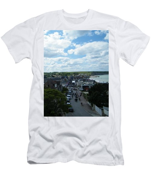 Above Arromanches-les-bains Men's T-Shirt (Athletic Fit)