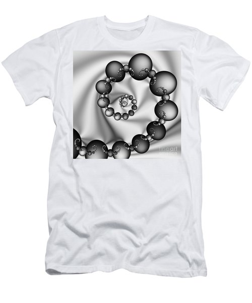 Abstract 537 Bw Men's T-Shirt (Athletic Fit)