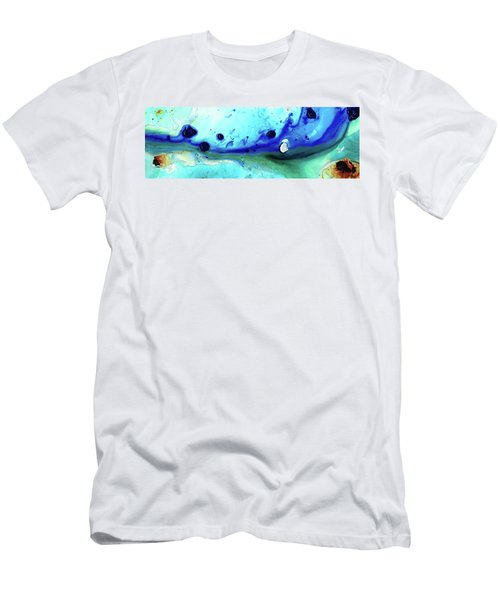 Abstract Art - Making Waves - Sharon Cummings Men's T-Shirt (Athletic Fit)