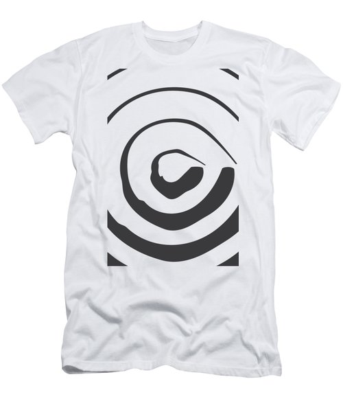 Abstract Art Perspective - Circle Men's T-Shirt (Athletic Fit)