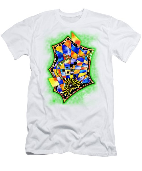 Abstract Digital Art - Stavoris V3 Men's T-Shirt (Athletic Fit)