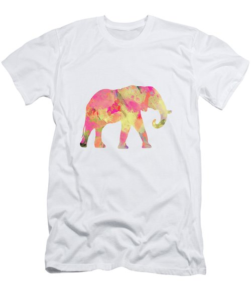 Abstract Elephant  Men's T-Shirt (Athletic Fit)