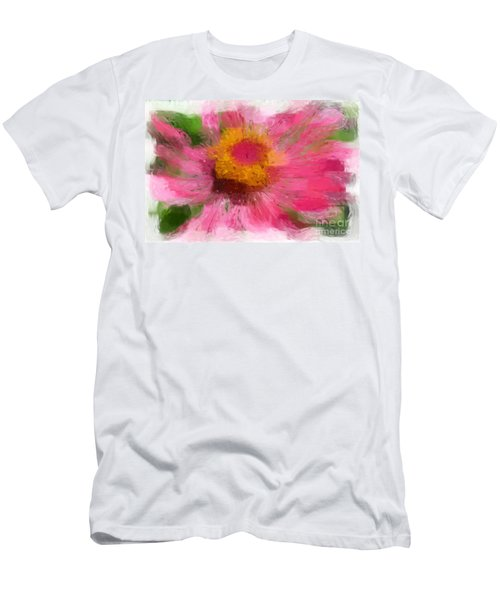 Abstract Flower Expressions Men's T-Shirt (Athletic Fit)