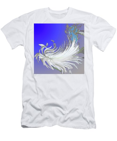 Abstract Flowers Of Light Series #4 Men's T-Shirt (Athletic Fit)