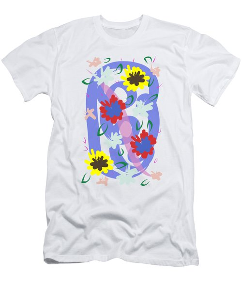 Abstract Garden #1 Men's T-Shirt (Athletic Fit)