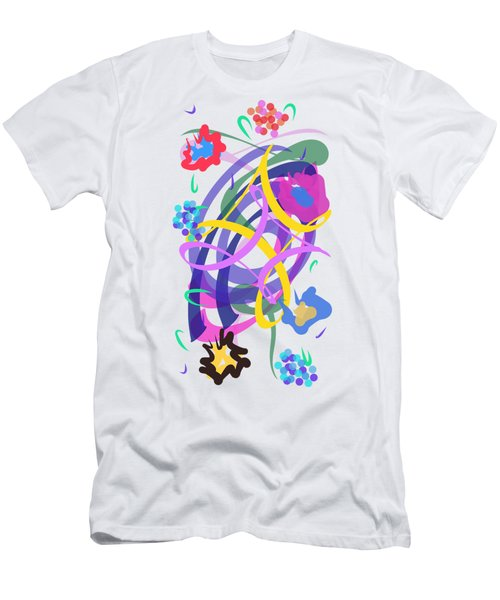 Abstract Garden #2 Men's T-Shirt (Athletic Fit)