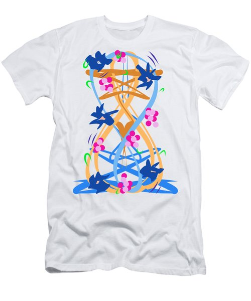 Abstract Garden #3 Men's T-Shirt (Athletic Fit)