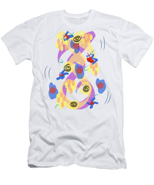 Abstract Garden #5 Men's T-Shirt (Athletic Fit)