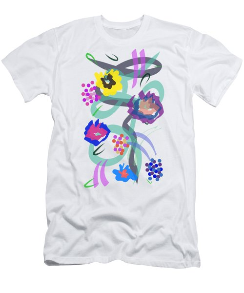 Abstract Garden Nr 4 Men's T-Shirt (Athletic Fit)
