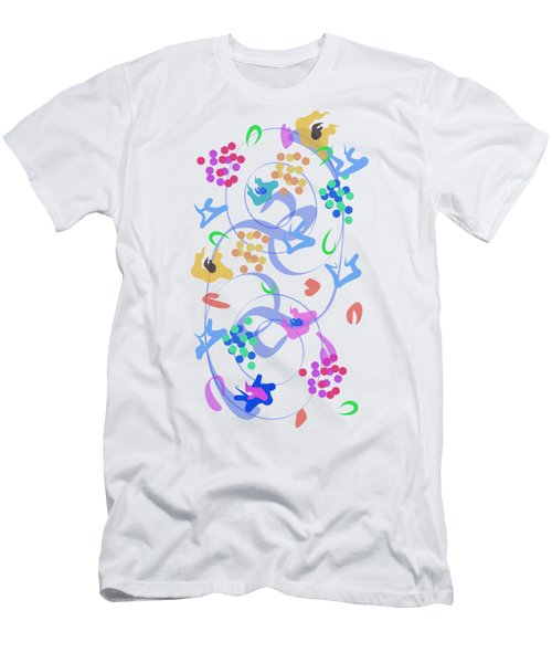Abstract Garden Nr 6 Men's T-Shirt (Athletic Fit)
