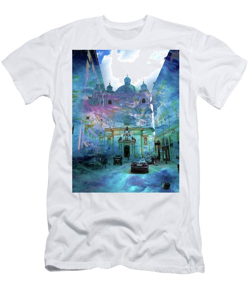 Abstract  Images Of Urban Landscape Series #9 Men's T-Shirt (Athletic Fit)
