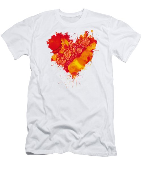 Abstract Intensity Men's T-Shirt (Slim Fit) by Nikki Marie Smith