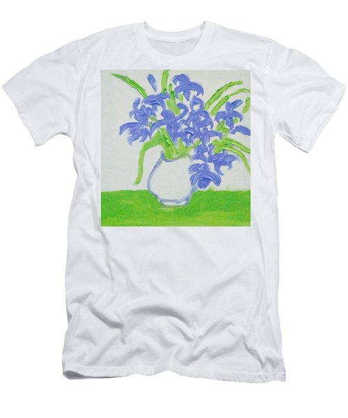 Abstract Iris Men's T-Shirt (Athletic Fit)