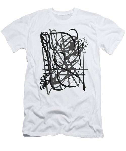 Abstract Men's T-Shirt (Slim Fit) by Oksana Demidova