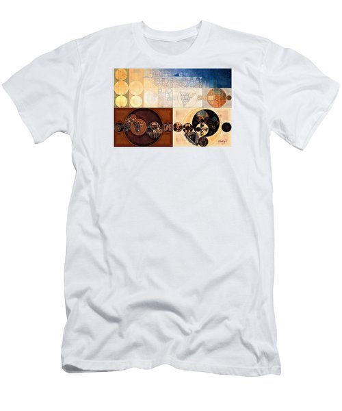 Abstract Painting - Dairy Cream Men's T-Shirt (Athletic Fit)
