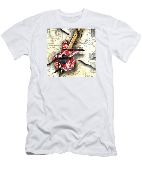 Abstracta 35 Eddie's Guitar Men's T-Shirt (Slim Fit) by Gary Bodnar