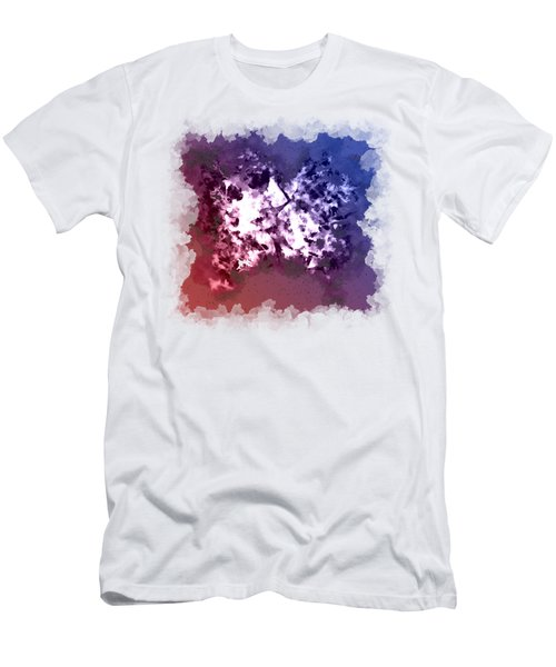 Abstraction Of The Ink Kiss  Men's T-Shirt (Slim Fit) by Anton Kalinichev