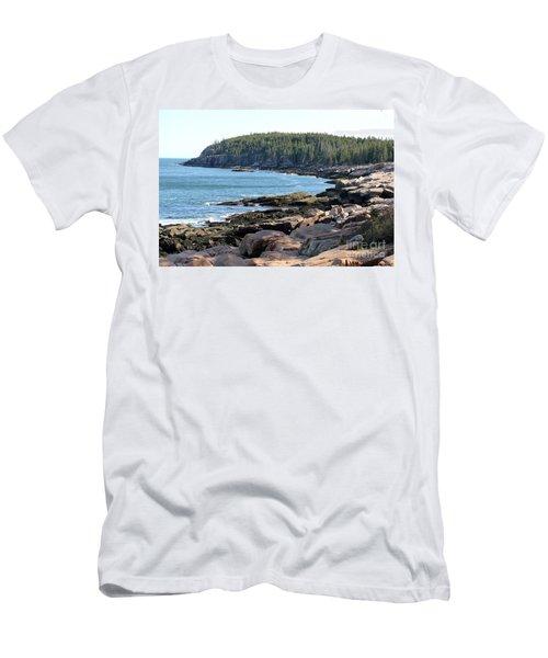 Acadia Cove Men's T-Shirt (Athletic Fit)