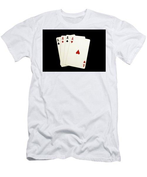 Aces Men's T-Shirt (Athletic Fit)